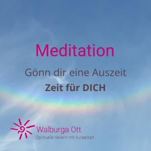 Meditation Zeit für Dich
